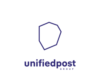 Logo Unifiedpost Group (HQ)